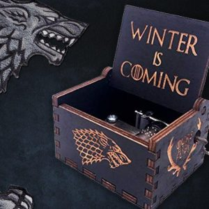 winter is coming game of thrones music box