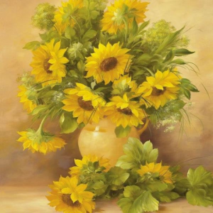 paint by number kit flowers